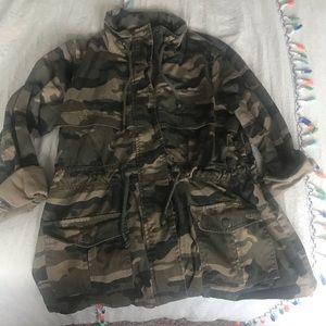 Camo Military Style Jacket